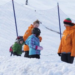 Intro to snowboarding for kids